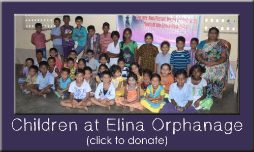 Children at Elina Orphanage