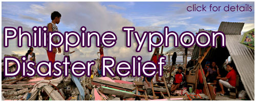 Philippine Typhoon Disaster Relief